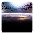 Asteroids Eclipse Live Wallpaper
